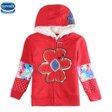 Novatx F5201 2016 nouvelle arrivée enfants vêtements de bébé filles vestes manteaux pour filles vêtements printemps automne vente chaude