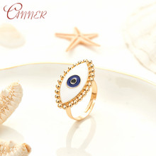 CANNER Bohemian Evil Eye Finger Rings For Women Ladys Vintage Midi Knuckle Ring Jewelry Adjustable Gold Color Engagement