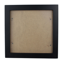 Square Thick Pine Wood Photo Frame Wall Picture (Black,6 Inch)
