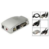 Centechia Pro Universal NTSC PAL VGA To TV AV RCA Signal Adapter Converter Video Switch Box