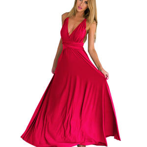 58e15e11ed5a Liva girl Sexy Women Boho Maxi Club Bandage Dress Party