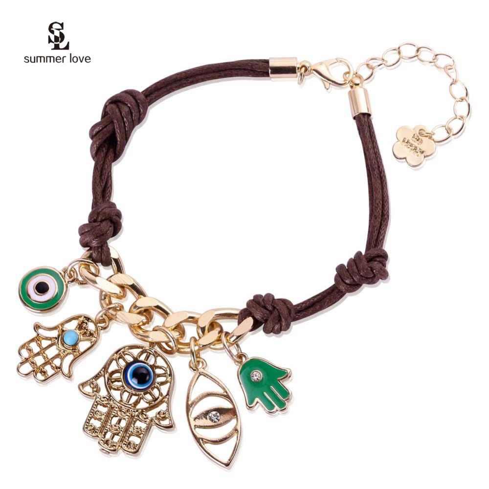 Mujeres cuentas pendientes de plumas Boho Cadena Colgante Pendiente hecha a mano joyería N7