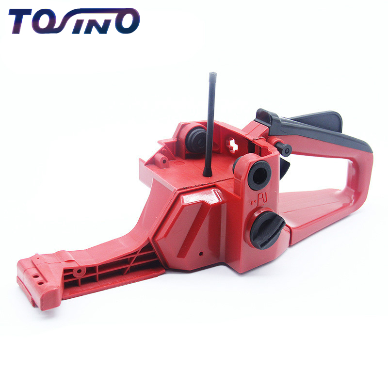 Lowest price Rear Handle Fuel Tank Assembly Fits Chinese Chainsaw 4500 5200 5900Silverline Chainsaw spare parts 45cc 52cc 59cc стоимость