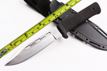 Hot Sale SAN MEI COLD STEEL SRK VG-1 Fixed Blade Knife 5CR15Blade ABS+TPR Handle Hunting Survival Knife