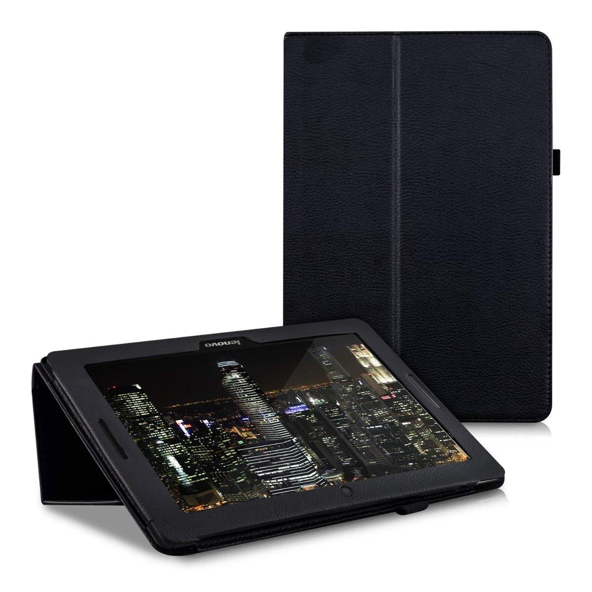 Fall für Lenovo Idee Tab A10-70 A7600 A7600h A7600f Flio Pu-leder-stand Halter Tablet Abdeckung für A7600 A10-80h 10,1 zoll Glas