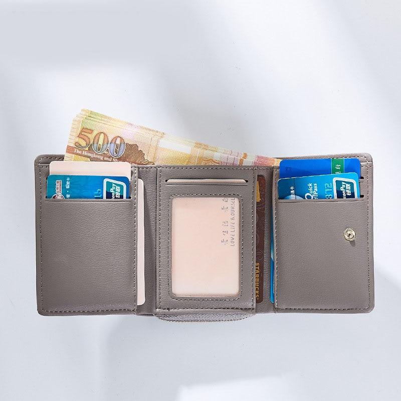 Weichen borla colgante de las mujeres carteras con cremallera Coin - Monederos y carteras - foto 3