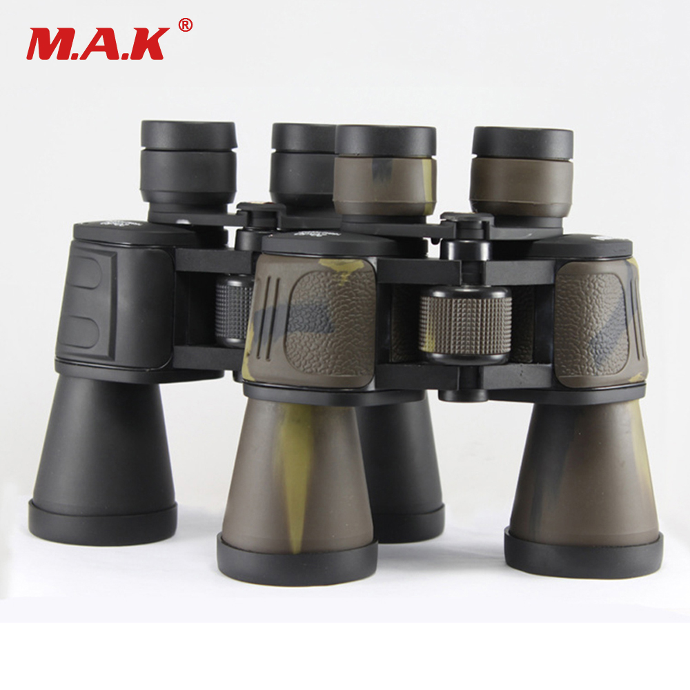 20x50 High Power Binoculars Telescope Green Film Night Vision Black/Camouflage Multi-layer Coating for Outdoor Hunting
