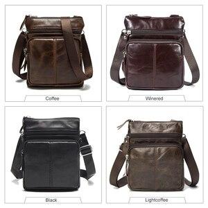 Image 2 - Westal Shoulder Work Business Messenger Office Women Men Bag Genuine Leather Briefcase For Handbag Male Female Small Portable