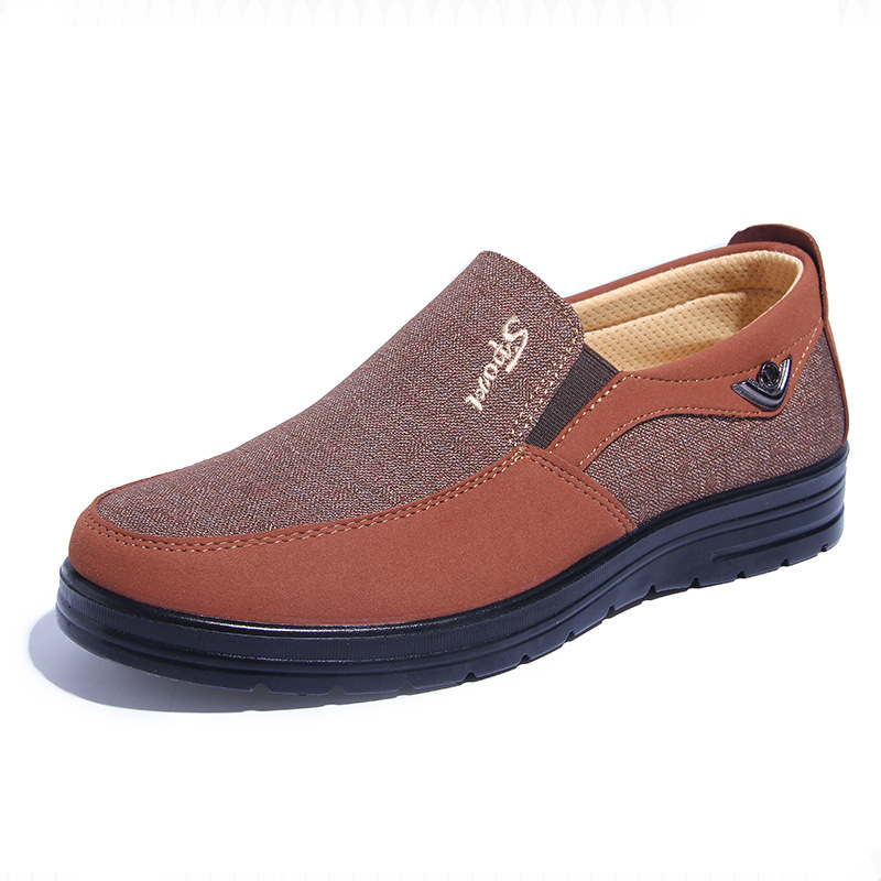 2018 New men's Spring/Autumn casual shoes breathable trend dad shoes sneakers men lazy old Beijing cloth shoes men туфли beijing cloth shoes 102 2015