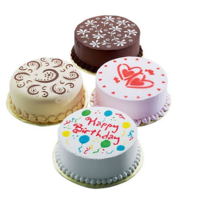 High Quality Cake Decorating Flower Stencils