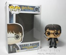 Funko POP Movies Harry Potter Action Figure Great quality Christmas Gift 10cm 3.75'' Movies Character Vinyl Figures Collection(China (Mainland))