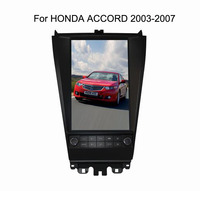 12.1 Tesla Android Fit HONDA ACCORD 2003 2004 2005 2006 2007 Car DVD Player Navigation GPS Radio