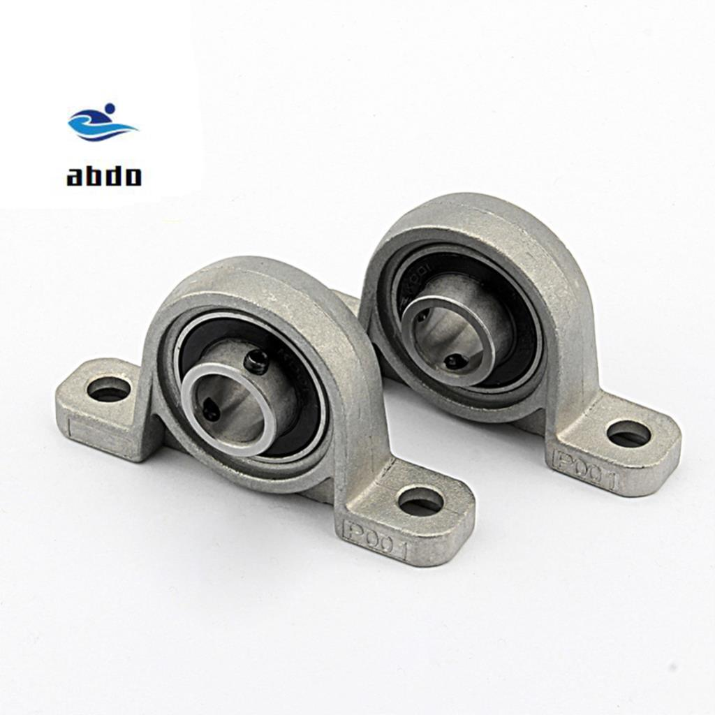 2PCS High quality KP004 Pillow Block Ball Bearing 20mm Zinc Alloy Miniature Bearings Industry Tool 99x21x53mm 2pcs ufl001 pillow block ball bearing 12mm zinc alloy miniature bearings with sleeve