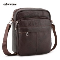 Genuine Leather Men Bags Hot Sale Male Small Messenger Bag Man Fashion Crossbody Shoulder Bag Men
