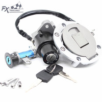 12V Motorcycle Ignition Switch Gas Cap Fuel Tank Cover Seat Lock key Set For YAMAHA TZR125 TZM150 TZR150 TDM850 TDM 850