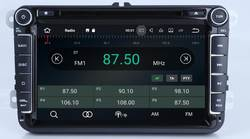 2G RAM Android дюймов 8,1 8 дюймов DVD плеер автомобиля для VW/Volkswagen/POLO/PASSAT/Гольф/TOURAN/SHARAN 4 ядра USB gps навигации радио