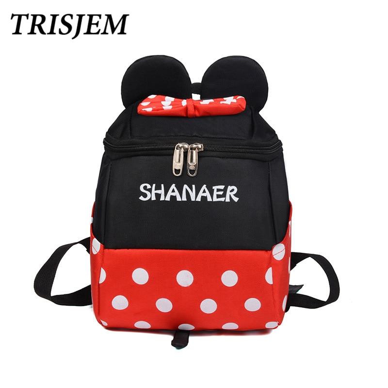 Women 2018 Cute Backpack For Teenagers Mickey Ears Children Mini Back Pack Kawaii Girls Kids Small Backpacks Feminine Packbag