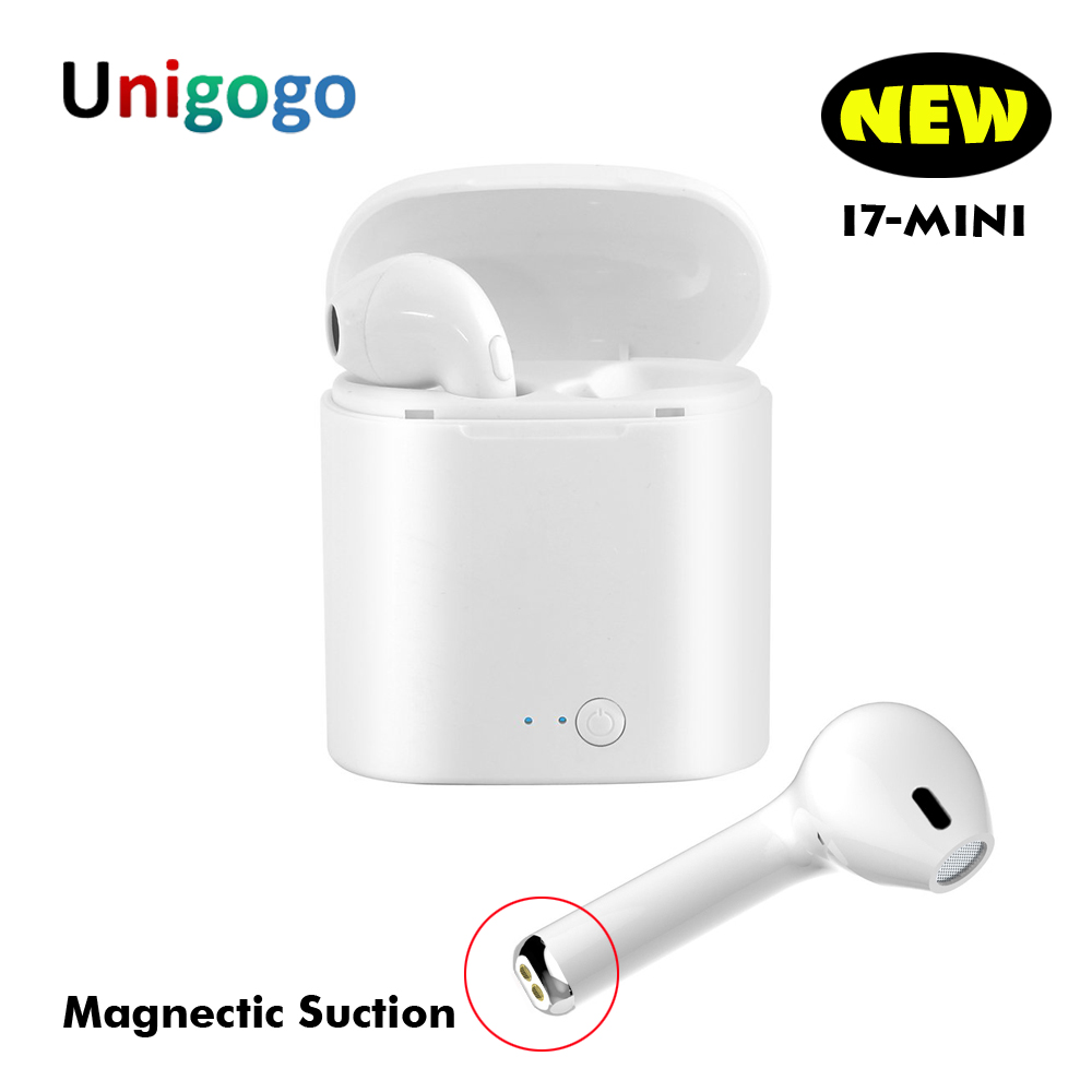 New i7 Mini TWS Headphones cordless Earphone Wireless Bluetooth Earbuds Headset for Iphone Air pods Samsung Xiaomi pk i7s tws