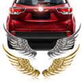 DWCX 3D Angel Wings Car Window Bumper Body Badge Emblem Sticker Decal for Mercedes Audi BMW Toyota Nissan Kia Toyota Honda Lexus