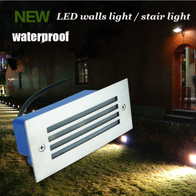 Buy Led Wall Light Outdoor Waterproof IP65 3W Steel Mesh LED