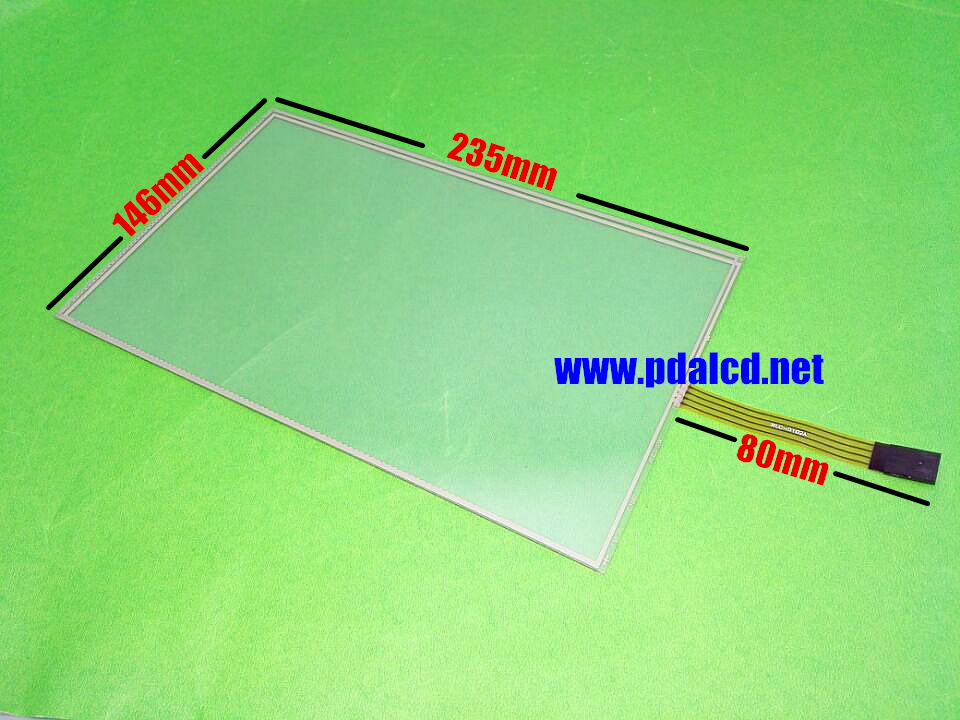 Original 10.2- inch 4 wire Resistive 235mmx145mm Touch Screen Panel for 235mm*145mm Touch screen digitizer panel free shipping amt 146 115 4 wire resistive touch screen ito 6 4 touch 4 line board touch glass amt9525 wide temperature touch screen