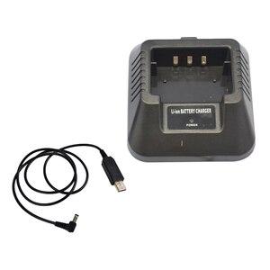 Image 1 - Sạc USB Adapter Dành Cho Cho Bộ Đàm Baofeng UV 5R DM 5R BF F8 + BF F8HP Hàm Bộ Đàm Bộ Đàm Linh Hoạt Hơn Đầu Vào Dung Dịch
