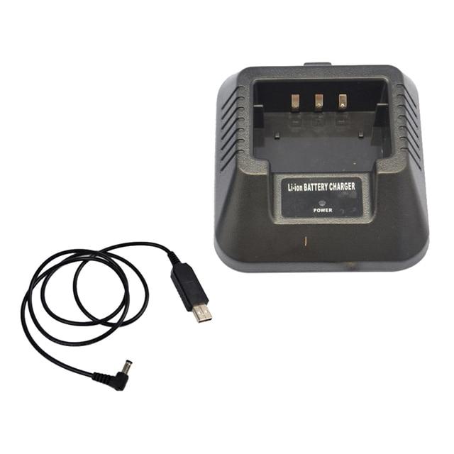 USB 충전기 어댑터 Baofeng UV 5R DM 5R BF F8 + BF F8HP 햄 워키 토키 유연한 입력 솔루션
