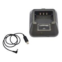 Usb Charger Adapter Voor Voor Baofeng UV 5R DM 5R BF F8 + BF F8HP Ham Radio Walkie Talkies Meer Flexibele Input Oplossing