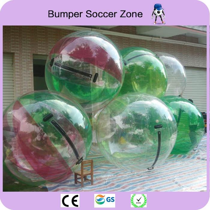 Envío Gratis 0,8mm TPU 2 m de agua Bola de agua gigante bola del Zorb globo inflable de hámster humano Bola de agua