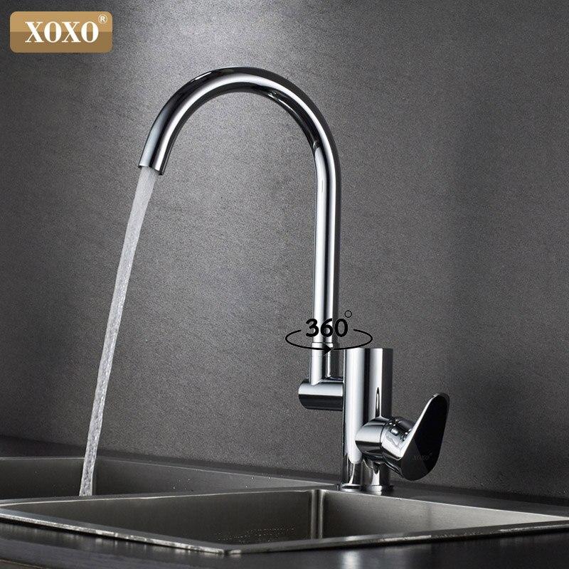 Здесь можно купить  XOXO Kitchen Faucet Digital Kitchen Faucet Water Power Sink Mixer Brass Chrome Plated Temperate Display Faucet Smart Tap 80041C  Строительство и Недвижимость