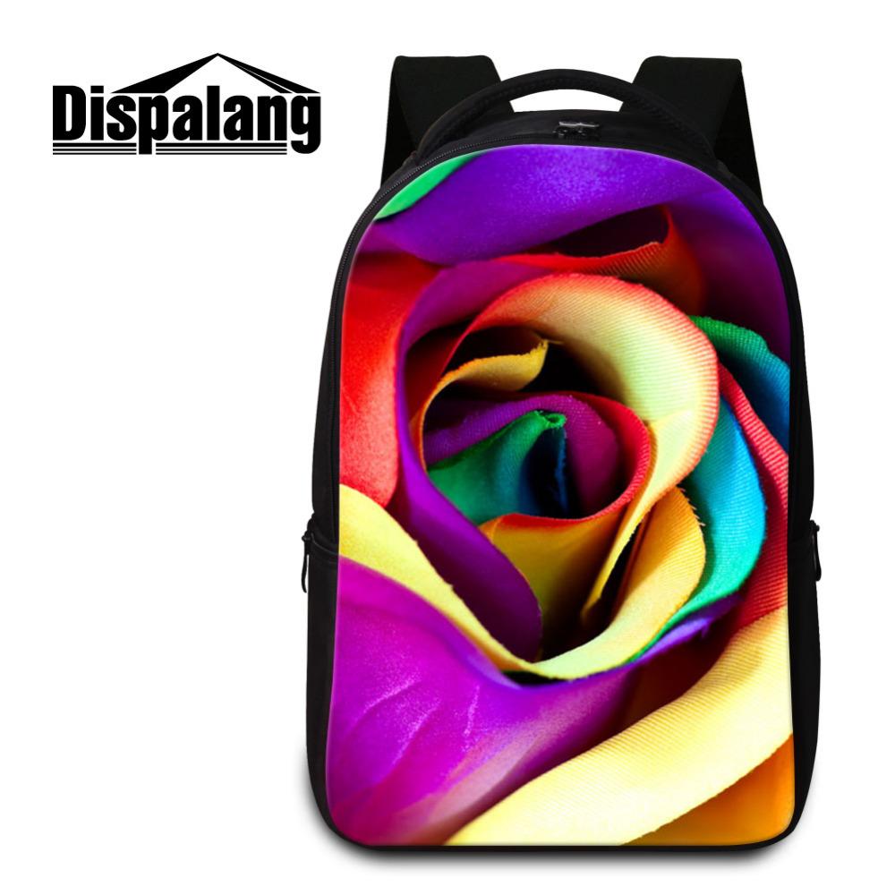 -Rose Plant Computer Backpack (9)
