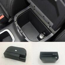 Для Nissan Navara NP300 ABS пластиковый ящик для хранения в подлокотнике автомобиля сетчатый чехол отделка автомобиля аксессуары для укладки 1 шт