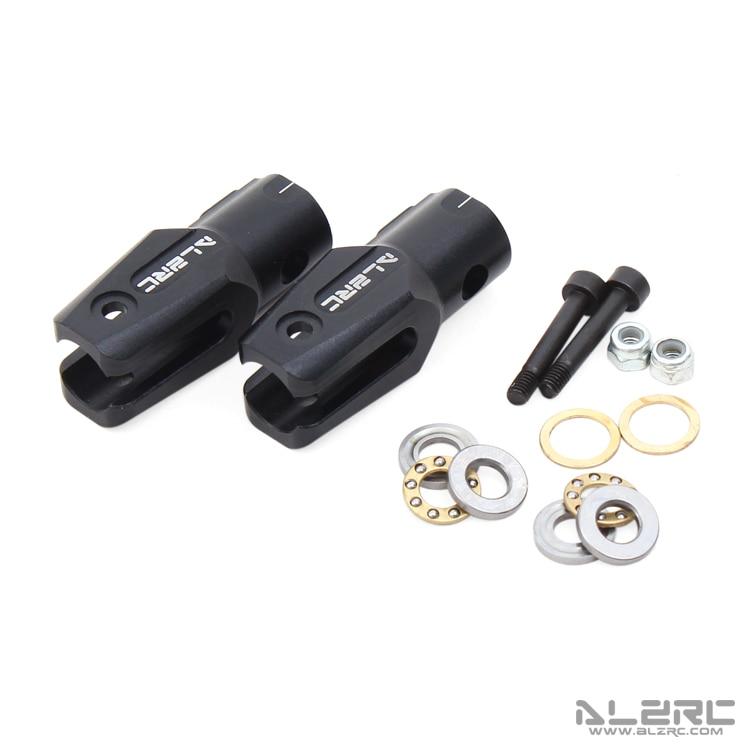 ALZRC - Devil 380 FAST metal main rotor clamp block / black D380F01-B r b parker s the devil wins