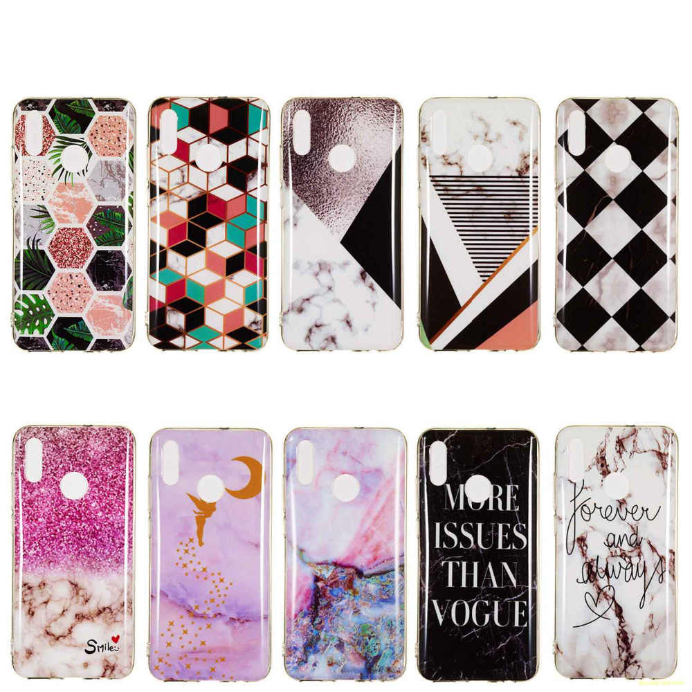Soft TPU Silicone Phone Case For Huawei Nova 4 / P Smart 2019 Fashion Printing Cool Design Back Cover coque fundas etui Cases