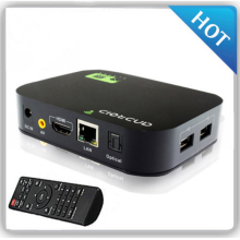 Kimtin Quad Core Процессор телеприставке Android 4.4.4 Встроенная память 8 GB XBMC Smart TV Box H.265 media player Поддержка Rj45 LAN WI-FI HDMI, оптический