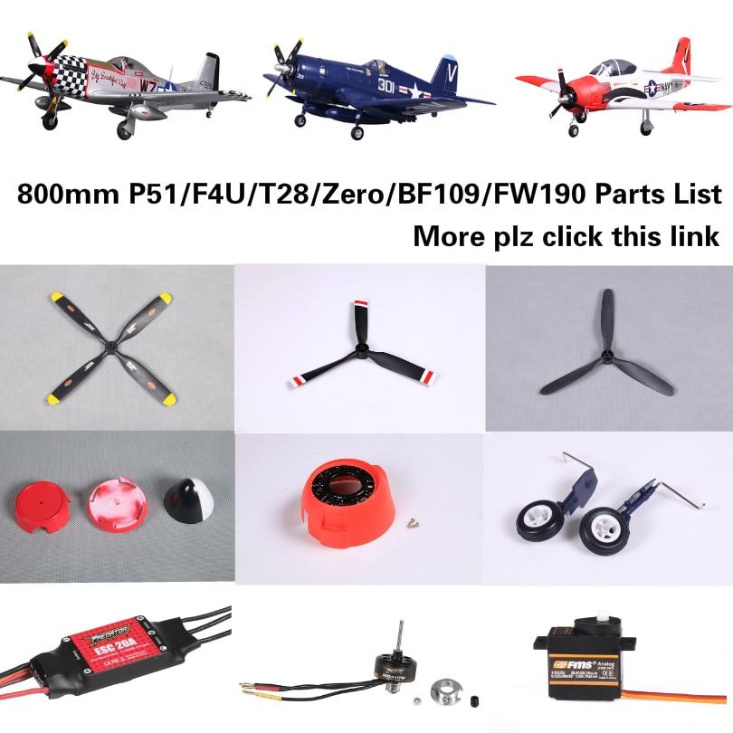 FMS 4250 KV580 Brushless Motor For FMS T28 Zero BF109 1400mm RC Airplane