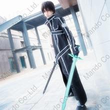 Anime SAO Sword Art Online Kirigaya Kazuto Kirito Cosplay Costumes Halloween for man coat pants suit