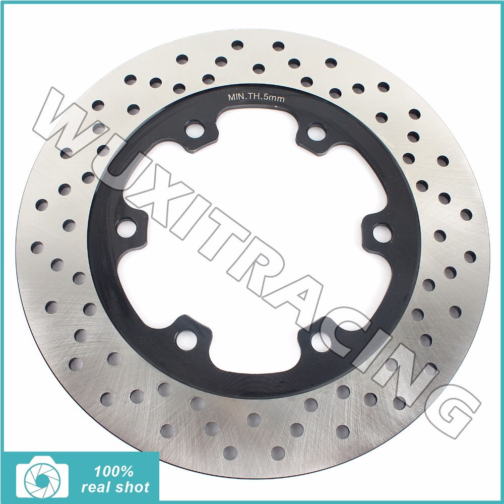 Rear Brake Disc Rotor for TRIUMPH Daytona Sprint 750 900 1000 1200 91-06 Speed Triple 900 Trident 750 900 Trophy 900 1200 91-01 rear brake disc rotor for ducati ss supersport 400 600 620 750 800 900 1000 91 06 620 750 800 900 sport gt 1000 touring 06 10