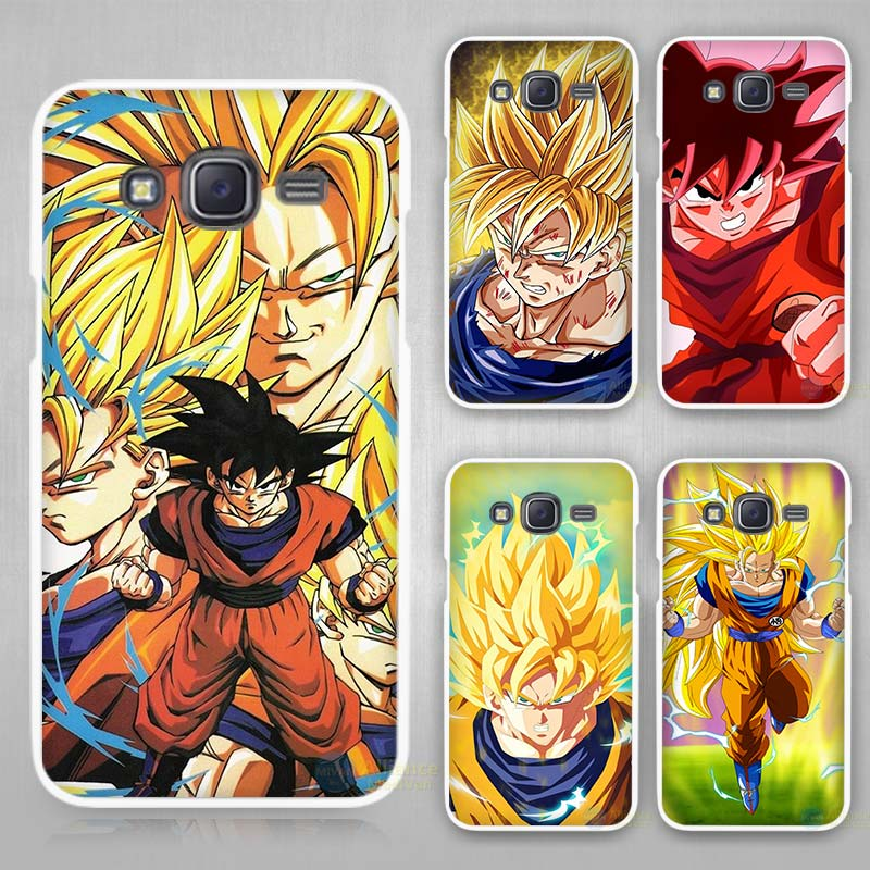 Generous Dragon Ball Z Goku Anime Series Hard White Plastic Case Cover For Samsung Galaxy J1 J2 J3 J5 J7 C5 C7 E5 E7 2016 2017 Emerge High Quality And Low Overhead Phone Bags & Cases Half-wrapped Case