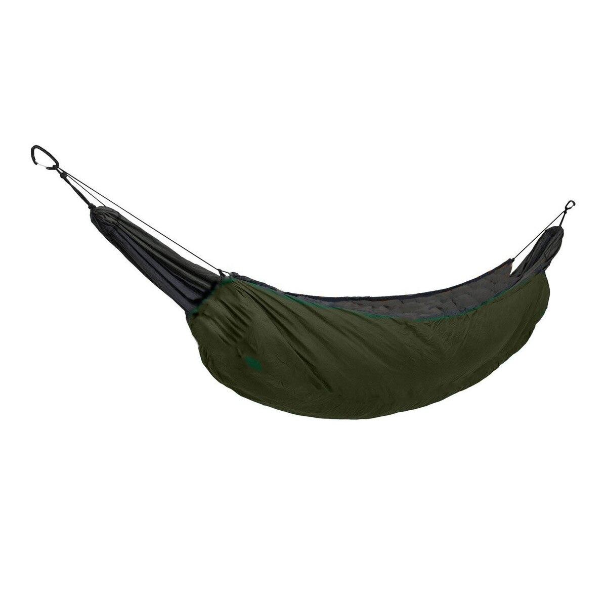 Ligero de longitud completa hamaca Underquilt en Manta Camping ultraligero dormir aislamiento bolsa 40 F a 68 F (5 C A 20 C)