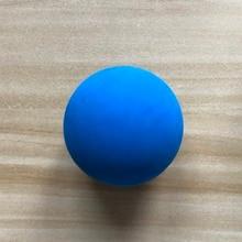 1 шт. 5,5 см ракетка, мяч для сквоша низкая скорость резиновый полый мяч тренировочный конкурс толщина 5 мм Высокая эластичность