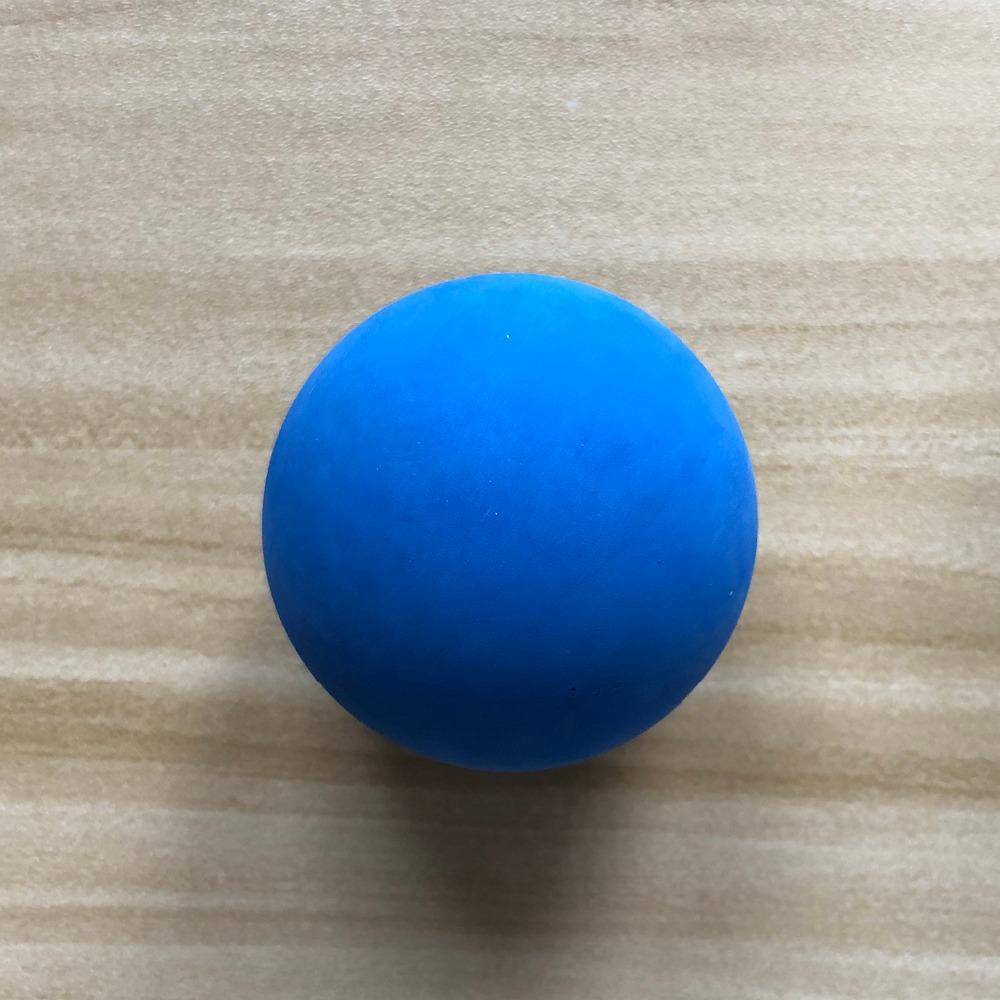 1 Piece 5.5cm Racquet Ball Squash Low Speed Rubber Hollow Ball Training Competition Thickness 5mm High Elasticity