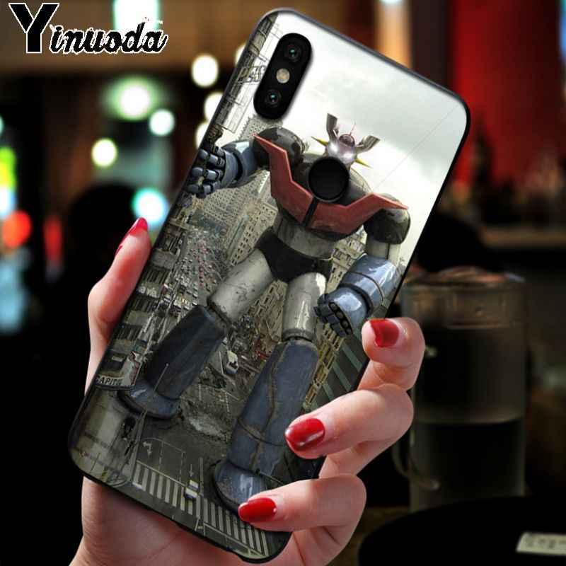 Yinuoda Mazinger Z en solde! De luxe étui de téléphone pour xiaomi redmi 7 5plus 6pro 6a 4x aller note5 note7 note6pro mi8se 9se funda