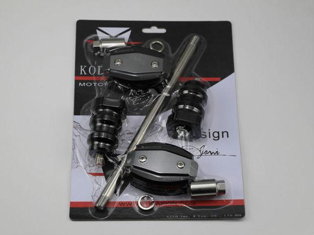 KODASKIN Motocicleta CNC cuerpo De Aluminio Deslizante Frame Sliders Crash Protector Protección Falling Para 695 696 796 1100 S2R S4R 1200