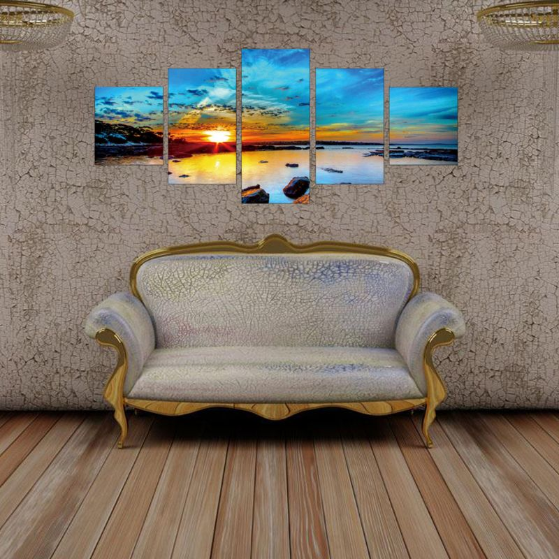 Sunrise 5D Diamond Painting Embroidery Cross Crafts Stitch Kit Home Decor in Diamond Painting Cross Stitch from Home Garden