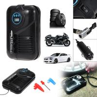 Portable 12V 250PSI Car Tire Inflator Pump Auto Car Pump Air Compressor Car Motor Tyre Air Inflator Motorcycle Car Accessories