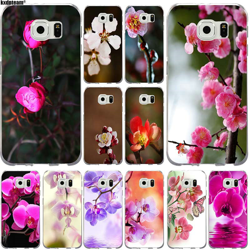 soft tpu silicone mobile phone cases orchid flowers for. Black Bedroom Furniture Sets. Home Design Ideas