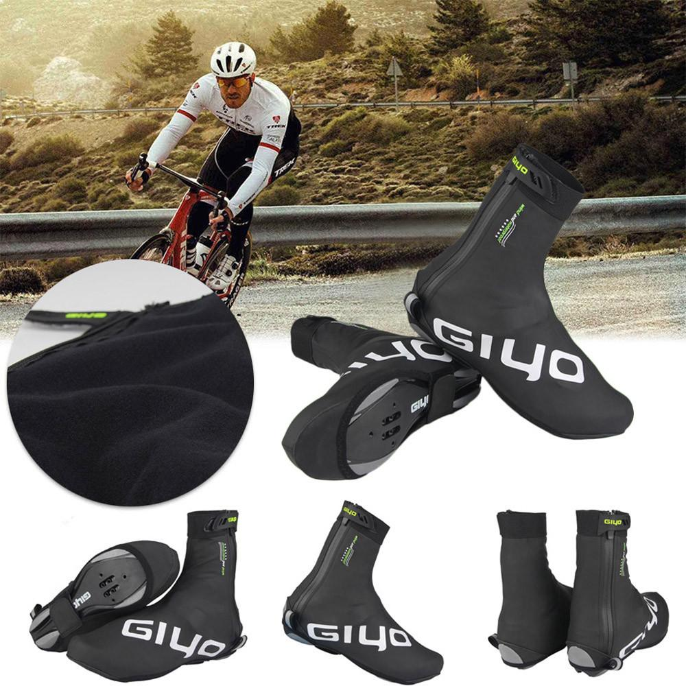 M-XXL Waterproof Cycling Shoe Covers Warm Bike Bicycle Overshoes Fleece ThermalM-XXL Waterproof Cycling Shoe Covers Warm Bike Bicycle Overshoes Fleece Thermal