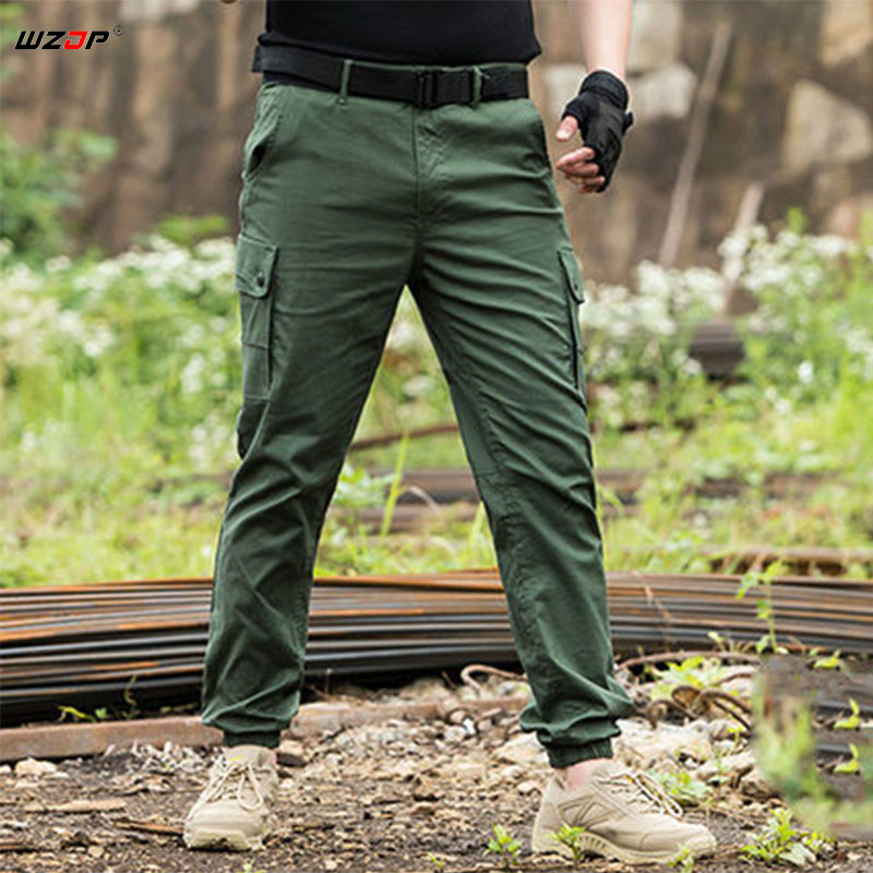 WZJP Men Army Military Style Trousers Breathable lightweight Waterproof Quick Dry Casual Pants Men s Tactical