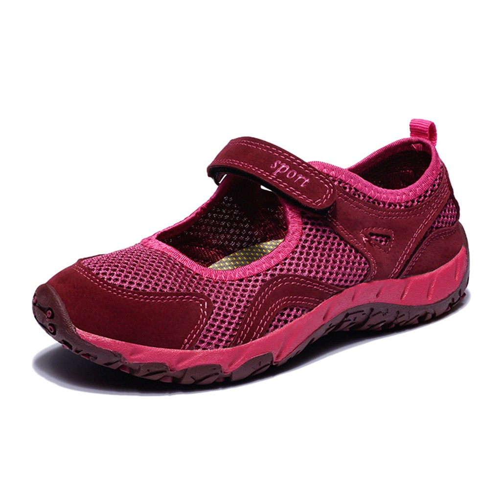 KANCOOLD Casual Women's Mesh Breathable Sneakers Lightweight Running Platform Sneakers Walking Wear-resistant Elastic Shoes